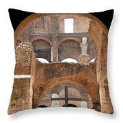 Colosseum 2 Throw Pillow