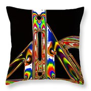 Colourful Geometry Throw Pillow