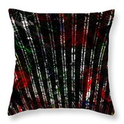 Colours Are Canned  Throw Pillow