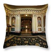 Colvmbarivm Entrance Throw Pillow