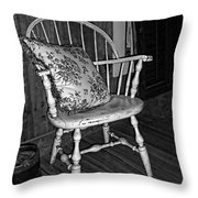 Come And Sit A Spell Throw Pillow