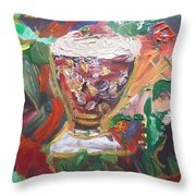 Come Dine With Me Throw Pillow