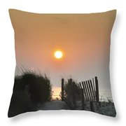 Come Greet The Sunrise Throw Pillow