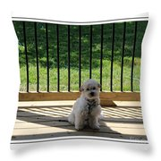 Come Out And Play With Me Throw Pillow