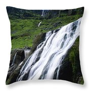 Comeragh Mountains, County Waterford Throw Pillow
