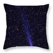 Comet Hyakutake Throw Pillow