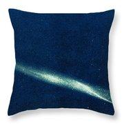 Comet Ikeya Seki, 1965 Throw Pillow by Science Source