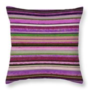 Comfortable Stripes Lll Throw Pillow