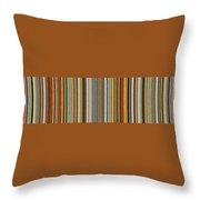 Comfortable Stripes Vlll Throw Pillow