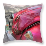 Comical Volkswagen Throw Pillow