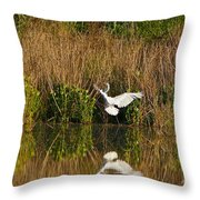Comings And Goings Throw Pillow