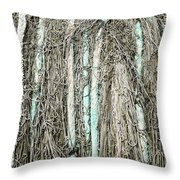 Commercial Fishing Net Throw Pillow