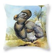 Common Dodo Throw Pillow