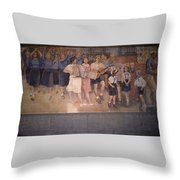 Communism Victorious Throw Pillow