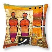 Companions I Throw Pillow