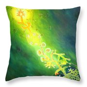 Complete Life Cycle Throw Pillow