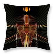 Complex Structure Throw Pillow