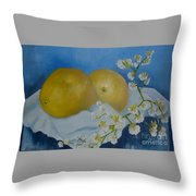 Compliments Throw Pillow