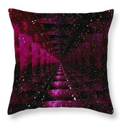 Computer Space Image Throw Pillow