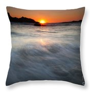 Concealed By The Tides Throw Pillow