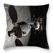 Concept Of The Orion Crew Exploration Throw Pillow