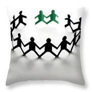 Conceptual Situation Throw Pillow