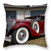 Concours D ' Elegance 1 Throw Pillow