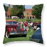 Concours D' Elegance 4 Throw Pillow