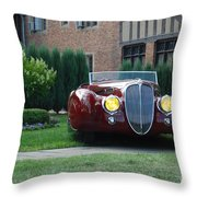 Concours D'elegance 10 Throw Pillow