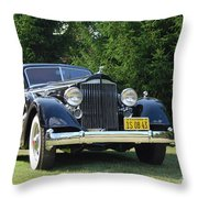 Concours D'elegance 11 Throw Pillow