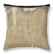 Concrete And Metal Throw Pillow