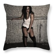 Concrete Velvet 26 Throw Pillow