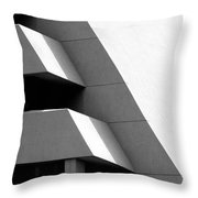 Concretely Abstract View Throw Pillow