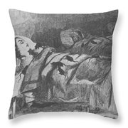 Conditions In Bellevue Hospital, New Throw Pillow