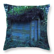 Condo In The Woods Throw Pillow