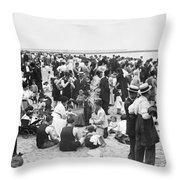 Coney Island New York - 1912 Throw Pillow