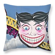 Coney Joker Throw Pillow