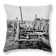 Confederate Cannon Throw Pillow