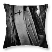 Confined  Throw Pillow by Empty Wall