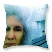 Confronting The Ferryman Throw Pillow