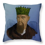 Confucius, Chinese Philosopher Throw Pillow