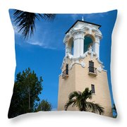 Congregational Church Of Coral Gables Throw Pillow