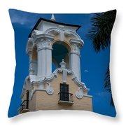 Congregational Church Tower Throw Pillow