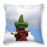 Conjuring The Clouds Throw Pillow