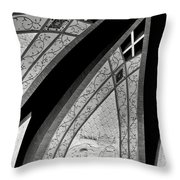 Connecting Pieces Throw Pillow