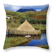 Connemara Heritage And History Centre Throw Pillow