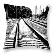 Conneticut Railway Throw Pillow