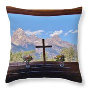 Connie's View Throw Pillow