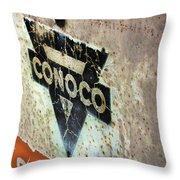 Conoco Throw Pillow