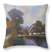 Constable Country Throw Pillow